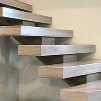Mono-Stringer Stairs