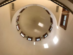 Tower Room -looking up-