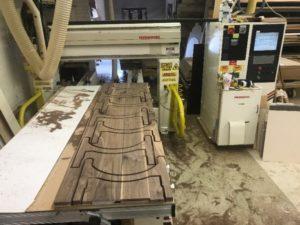 Cutting Slide Parts on CNC